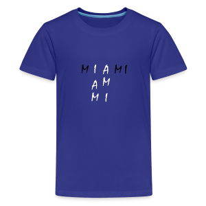 Miami Collection - Premium T-skjorte for tenåringer