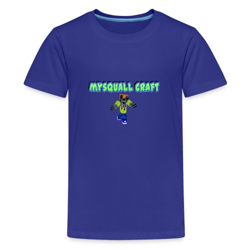 Erstes mysquall Craft Design - Teenager Premium T-Shirt