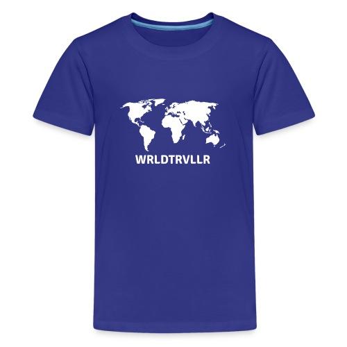 Worldtraveller - Teenager Premium T-Shirt