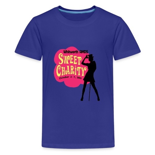 WAMDS Sweet Charity 2017 - Teenage Premium T-Shirt