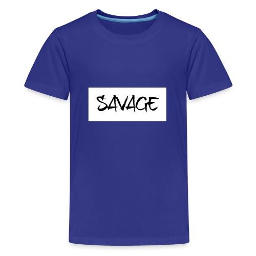 SAVAGE - Teenage Premium T-Shirt