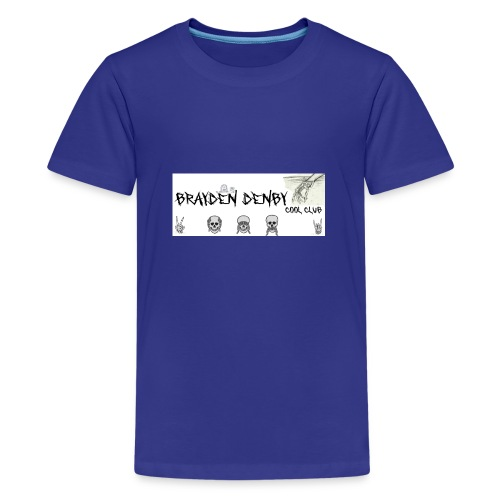 brayden denby exclusive merch - Teenage Premium T-Shirt