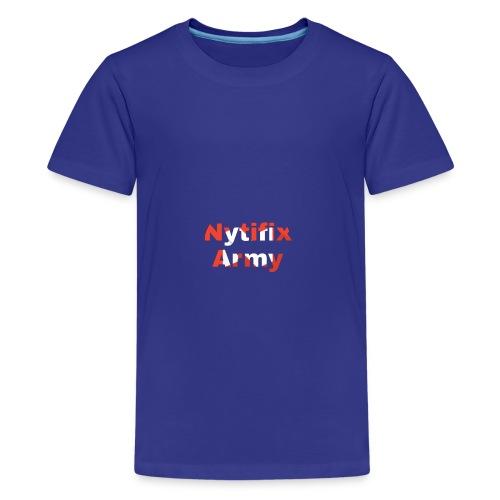 Nytifix Army T-Shirt - Teenager Premium T-Shirt