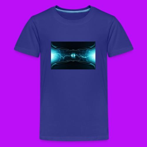lightning cell - Teenage Premium T-Shirt