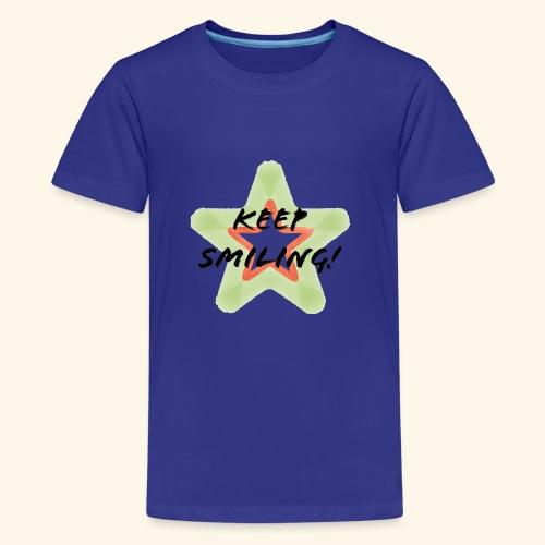 Lachen! - Teenager Premium T-Shirt
