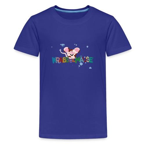 Krabbelmaeuse Andrea - Teenager Premium T-Shirt