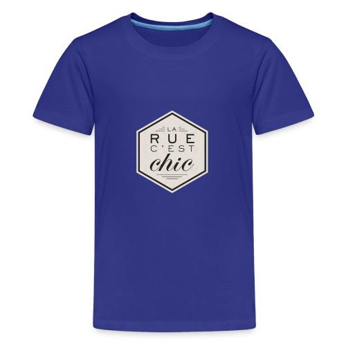 la rue c'est chic - T-shirt Premium Ado