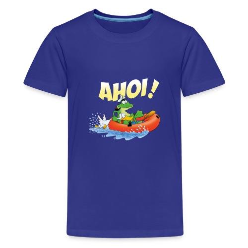 froschspeed ahoi - Teenager Premium T-Shirt