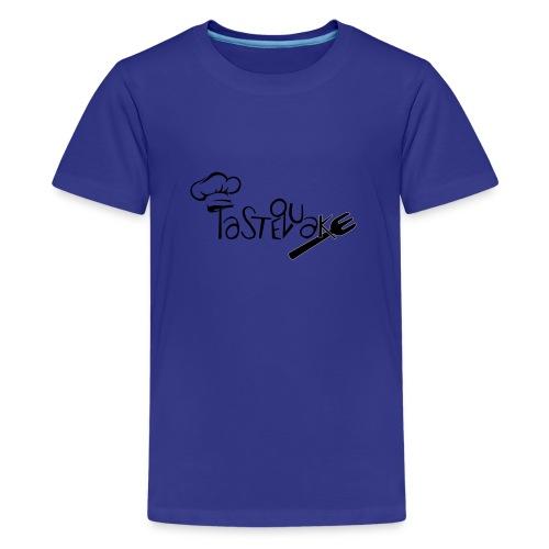 TasteQuake Logo - Teenager Premium T-Shirt