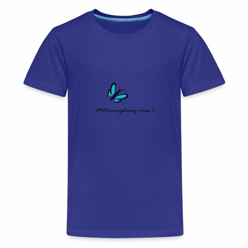Métamorphose du papillon - T-shirt Premium Ado