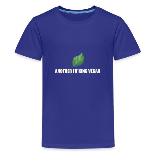 Vegan Lustig Style Lifestyle Umwelt Öko Tierschutz - Teenager Premium T-Shirt