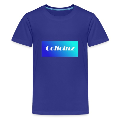 Colicinz Logo - Teenage Premium T-Shirt
