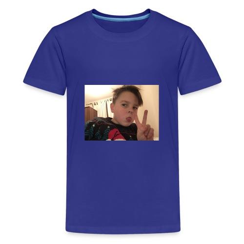 Oscar Frawley upsidedown - Teenage Premium T-Shirt