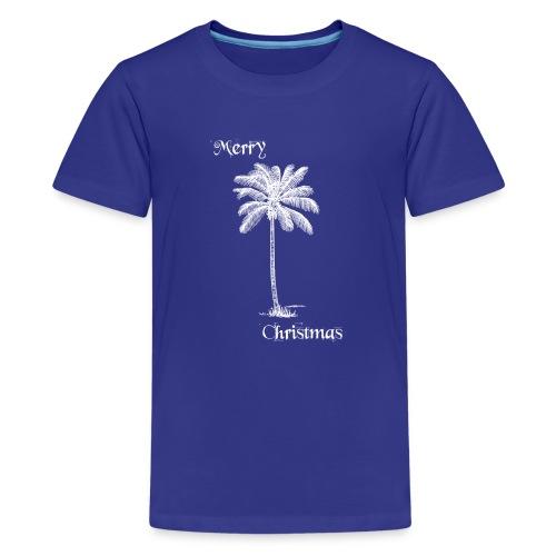 Merry Christmas Palme - Teenager Premium T-Shirt