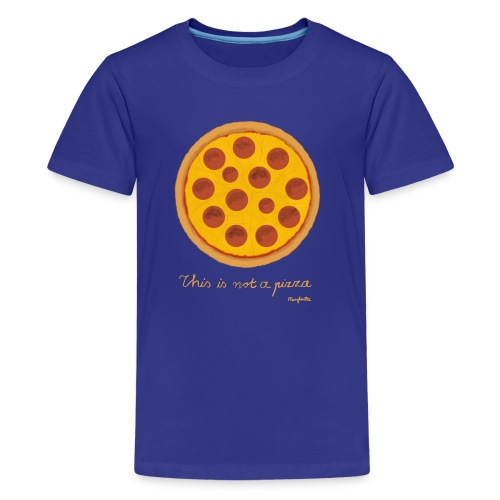 This is not a Pizza - Teenager Premium T-Shirt
