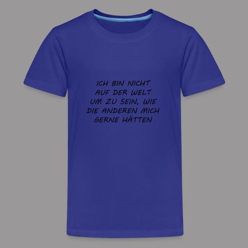 ICH - Teenager Premium T-Shirt