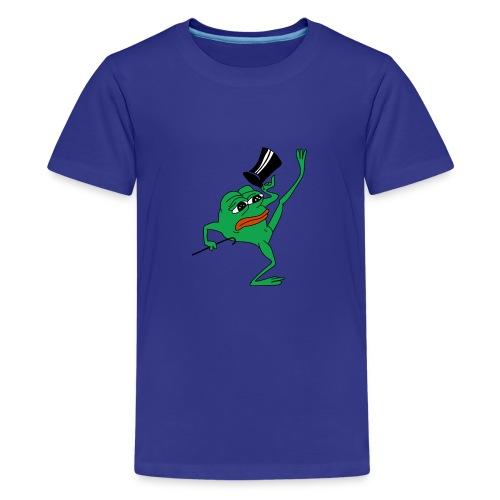 Kekistan President - Teenage Premium T-Shirt
