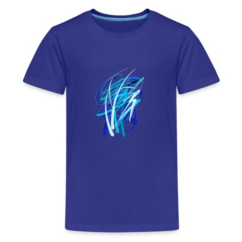Blaue fünferkonstellation - Teenager Premium T-Shirt