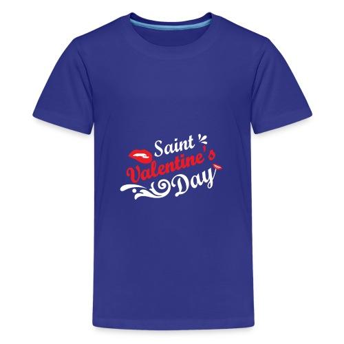 Valentine's - Teenage Premium T-Shirt