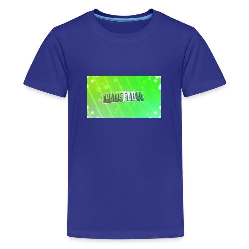 chaosflo444444444444444444444444444444444444444442 - Teenager Premium T-Shirt