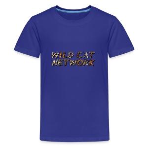 WildCatNetwork 1 - Teenage Premium T-Shirt
