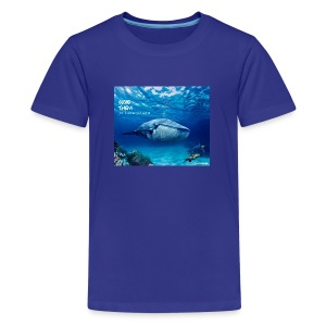 SAVE THEM fww sea - Camiseta premium adolescente