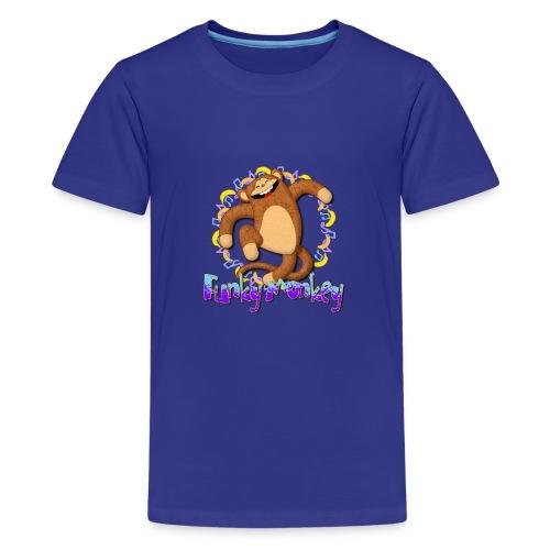 Funky Monkey - Maglietta Premium per ragazzi