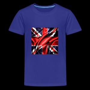 Union Jack design - Teenage Premium T-Shirt