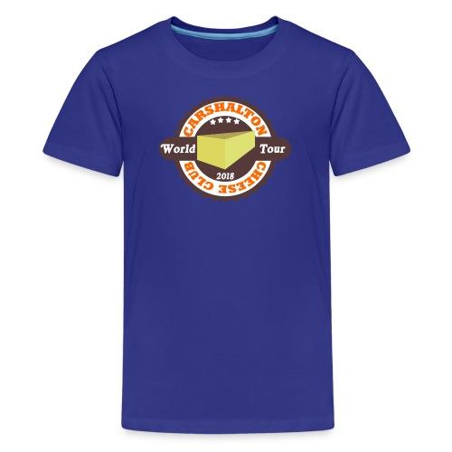 cheeseclub2018 - Teenage Premium T-Shirt