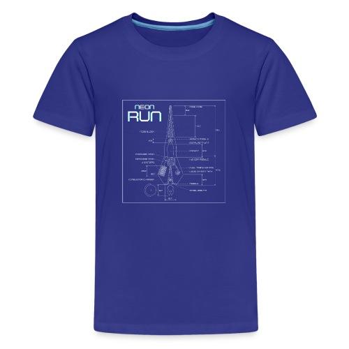 NeonRun - Teenager Premium T-shirt
