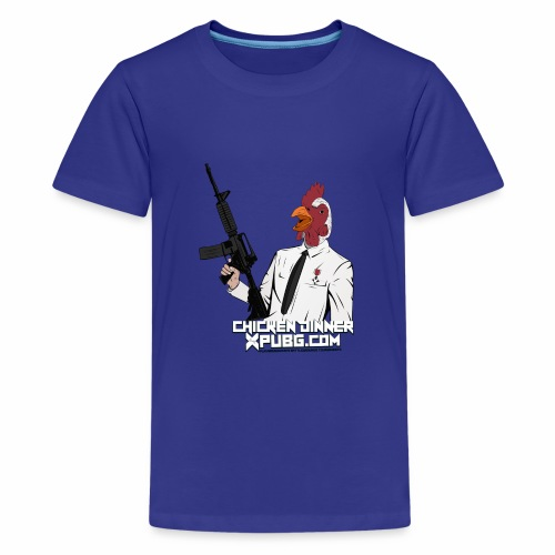XPuBG Winner winner chicken dinner! - Teenage Premium T-Shirt
