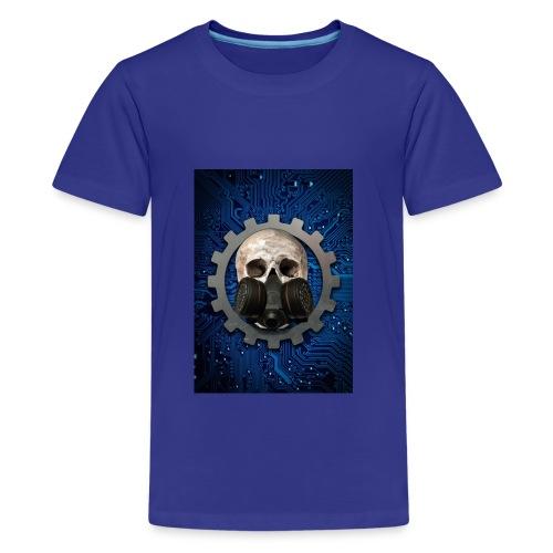 EBM - ELECTRONIC BODY MUSIC - ELECTRO HEAD - Teenage Premium T-Shirt
