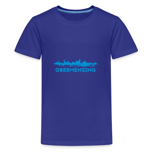 Obermenzing Skyline (Modern) - Teenager Premium T-Shirt