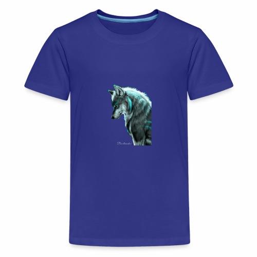 Breathmode wolf - T-shirt Premium Ado