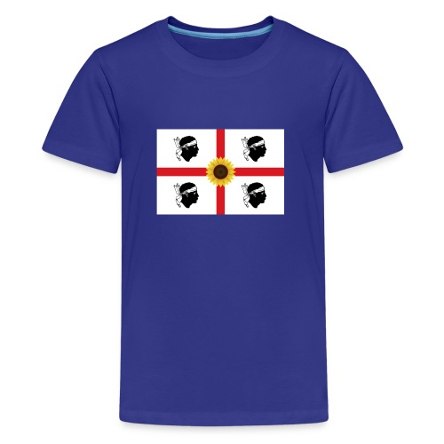 Girasoli_Sardegna - Teenager Premium T-Shirt