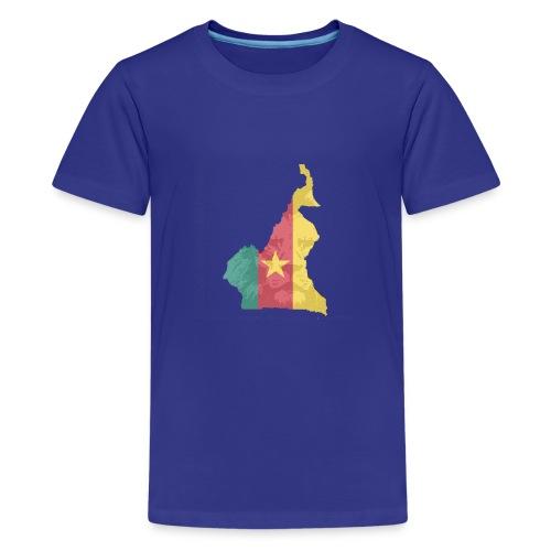 lion head - Teenager Premium T-Shirt