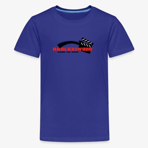 ROBLOXiwood 2017 Logo - Teenage Premium T-Shirt