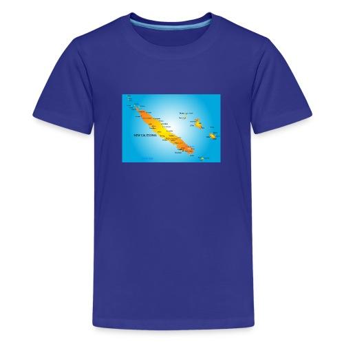 nouvelle caledonie - T-shirt Premium Ado