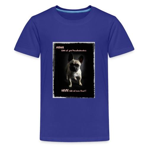 hunde sind die besten - Teenager Premium T-Shirt