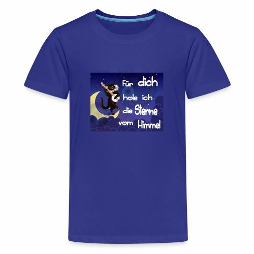 Katze - Für dich hole ich die Sterne vom Himmel - Teenager Premium T-Shirt