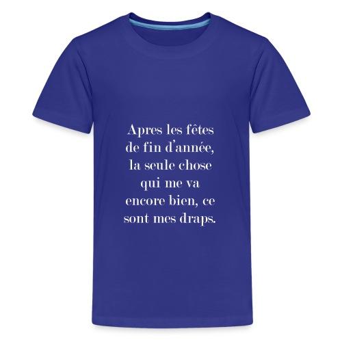 fêtes de fin d'année - T-shirt Premium Ado