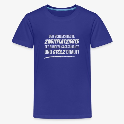 Zweiter und stolz drauf! - Teenager Premium T-Shirt