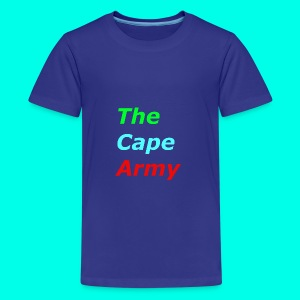 The Cape Army - Teenage Premium T-Shirt