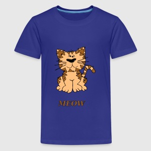 kat mjave - Teenager premium T-shirt