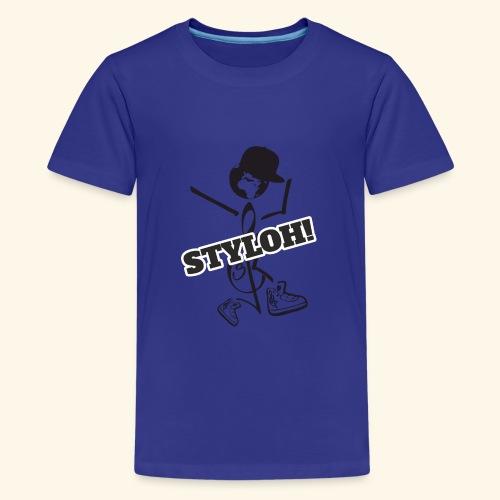 STYLOH! - Camiseta premium adolescente