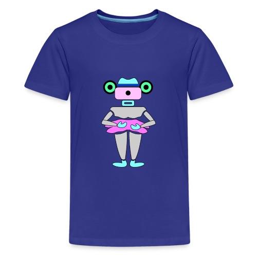 robottino futuristico - Teenager Premium T-Shirt