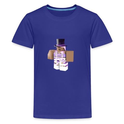Poppit5AJ Pic - Teenage Premium T-Shirt