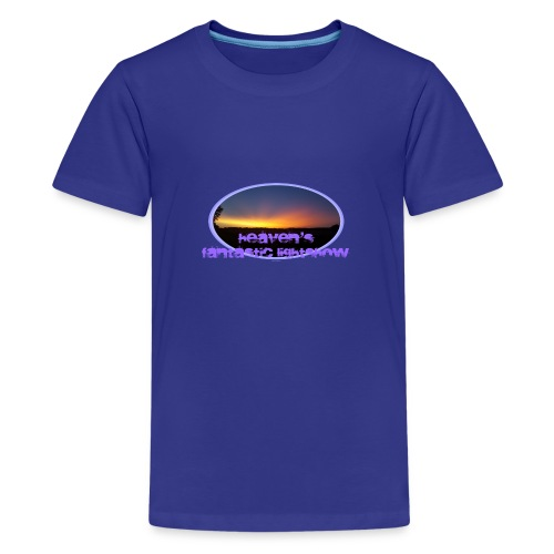 fantastic lightshow - Teenager Premium T-Shirt