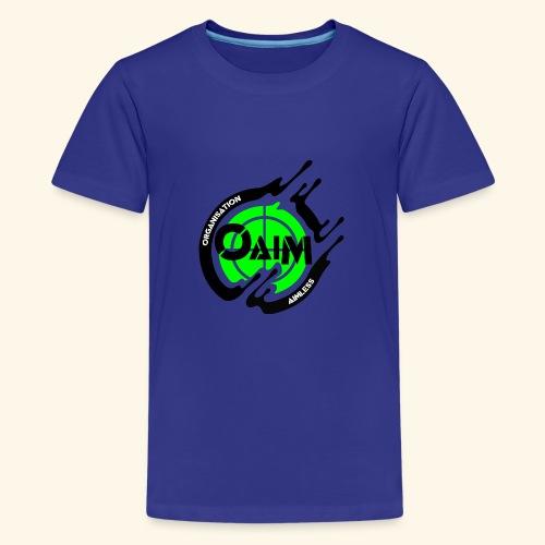 Organisation Aimless - Teenager Premium T-Shirt