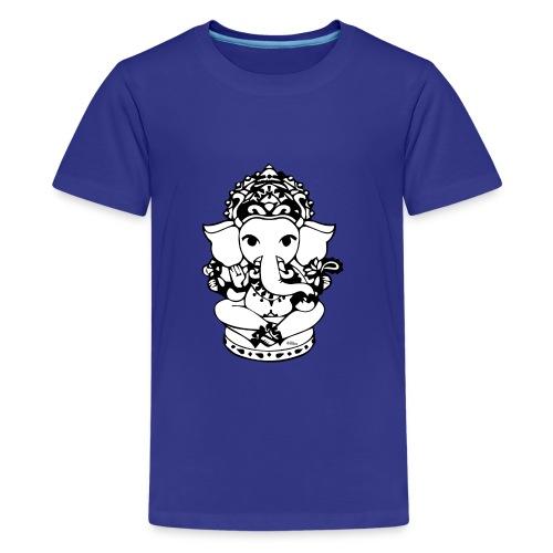 Wee Ganesh - Teenage Premium T-Shirt